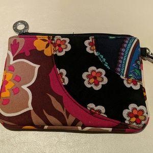 Vera Bradley fabric wristlet